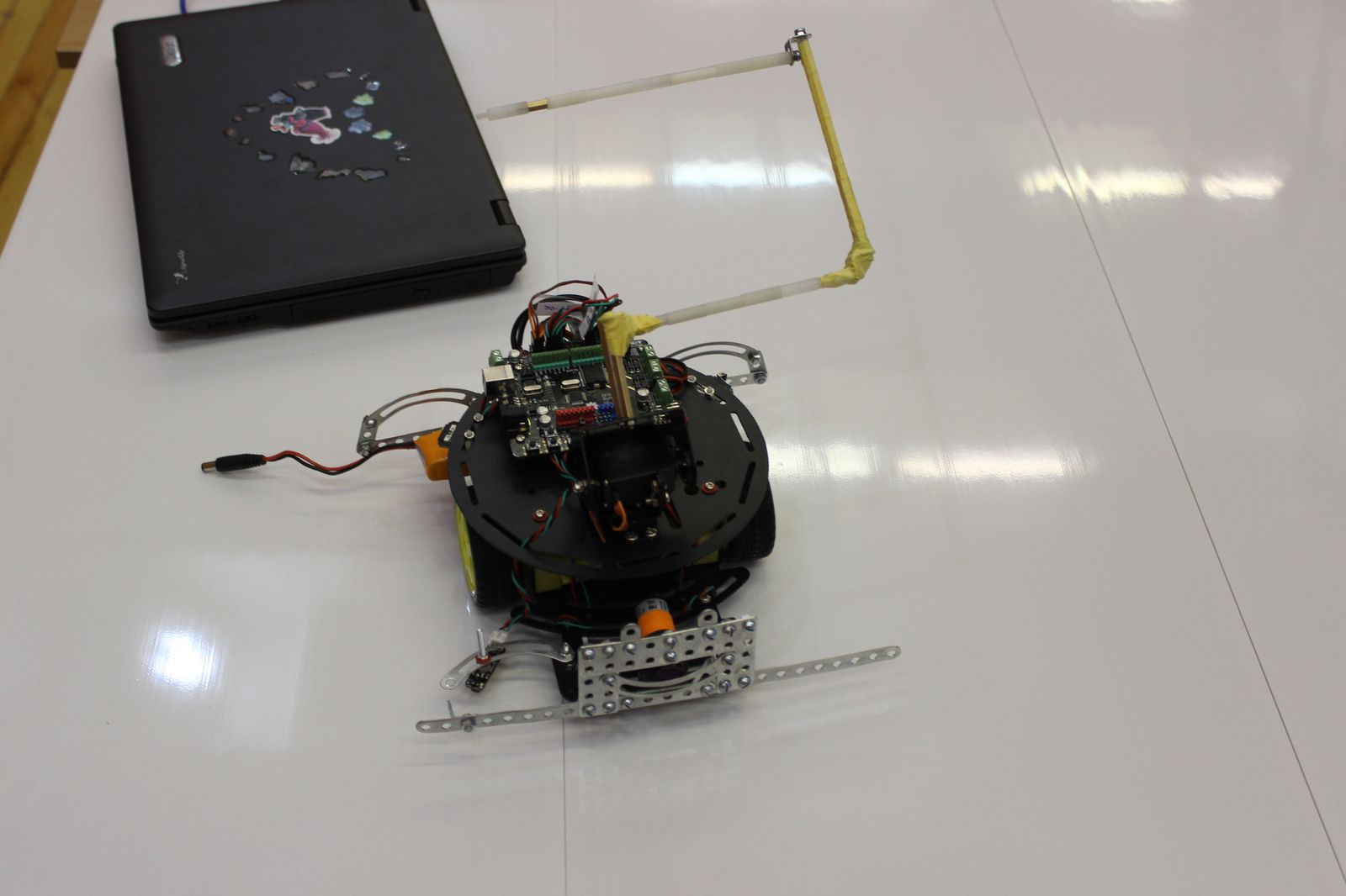 Робот для биатлона