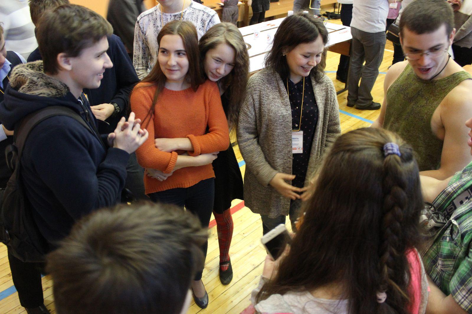 Общение участников фестиваля с членами жюри